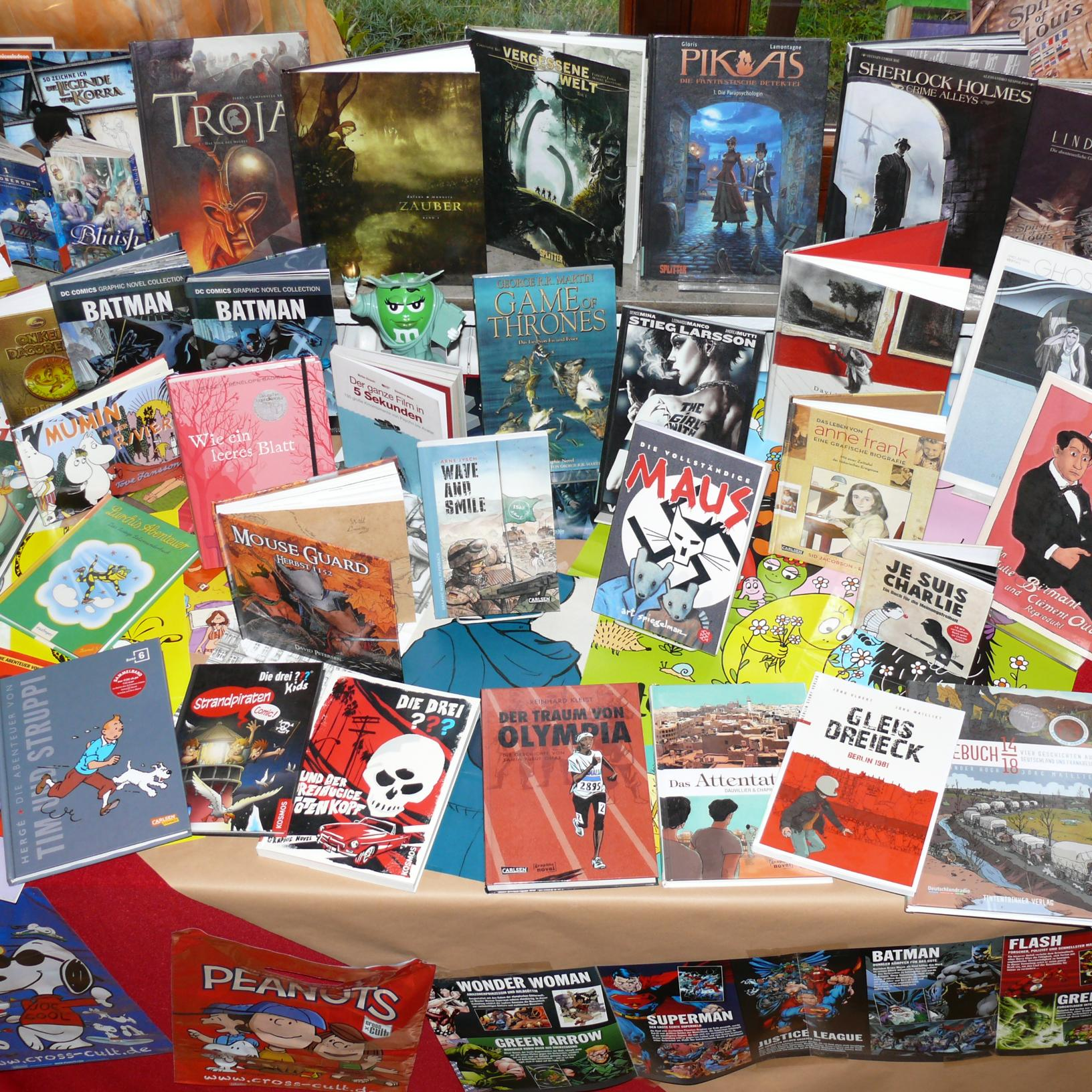 Comics, Mangas, Graphic Novels